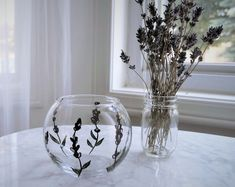 Handmade Lavender Products by FleurEscents on Etsy Cottage Homes, Glass Vase, Etsy Seller, Lavender, Etsy Shop, Unique Jewelry, Creative, Handmade Gifts, Vintage