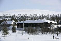Hostel Ahopää in Saariselkä at Kiilopää Fell Centre.  Cabins and activities in Saariselkä http://www.saariselka.com