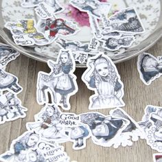 Aliexpress.com : Buy 40pcs Self made Alice in Wonderland Scrapbooking Stickers Decorative Sticker DIY Craft Photo Albums Decals Diary Deco from Reliable sticker city suppliers on Candy DIY Store