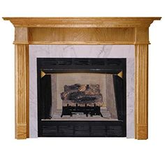 Agee Woodworks Jefferson Wood Fireplace Mantel Surround *** Click on the image for additional details.