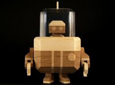 Derpy wooden robots by LouLou & Tummie