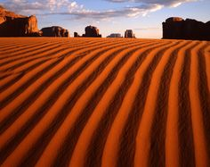 Monument Valley Dunes - Photograph by Tom Till
