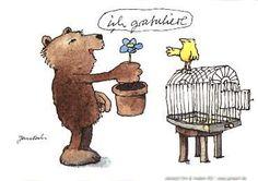 Ich gratuliere.  #Glückwunsch, #Geburtstag, #Postkarte, #Janosch