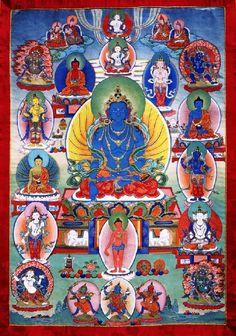 Akshobhya Buddha in Sambhogakaya form #Majestic #Cosmic #puzzles