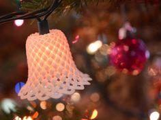 3d printing Christmas Light Bell Ornament