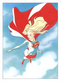 "alexhchung: ""Supergirl by Joshua Middleton """