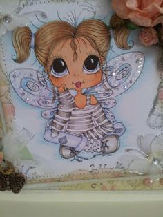 Bestie close-up by Jane Ayres.... see entire card in her blog post
