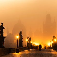 Charles Bridge is, without any doubt, on the top of every Prague visitor's must-see list. The best time to visit Charles Bridge is early at the morning or at night when it is not crowded. There are towers standing on both ends of the bridge and both can be climbed for a magnificent view of Prague and the bridge from above.  How to get there : From the main train station it is about a 20-minute walk to the right bank of the river.