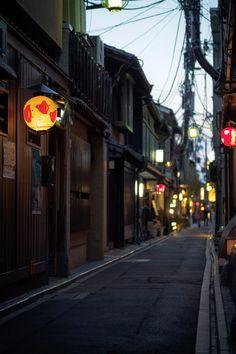 先斗町 pontocho - KYOTO JAPAN