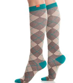 Vim & Vigr Argyle Compression Socks. Cute, cute, cute! We love the entire line of Vim & Vigr's compression socks. They're perfect for those on your list who spend their day standing or sitting. Available in multiple colors. Priced at $29.95.