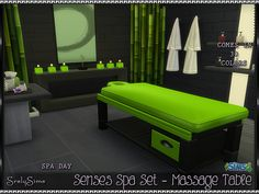 SrslySims | 'Spa Day' Massage Table