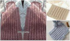 ŞİŞ ÖRGÜLERDE PRATİK KOLAY SAÇ ÖRGÜSÜ MODELİ Sweaters, Fashion, Moda, Fashion Styles, Sweater, Fashion Illustrations, Sweatshirts, Pullover Sweaters, Pullover