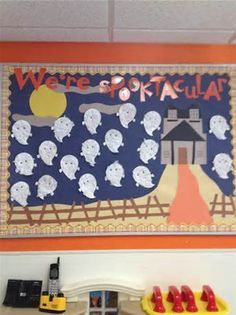 halloween bulletin boards - Halloween Crafts For The Classroom