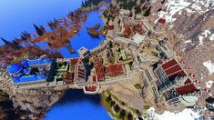 Imperial Legion, Minecraft City Buildings, Bard College, The Province, Picture Link, Skyrim, Solitude, City Photo, Tes