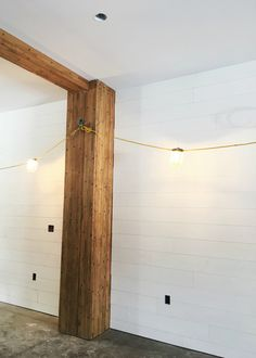 Tips for Installing Shiplap Walls — La Petite Farmhouse Modern Farmhouse Bathroom, Modern Farmhouse Exterior, Modern Farmhouse Style, Industrial Farmhouse, Farmhouse Design, Modern Rustic, Installing Shiplap, White Shiplap Wall, Fireplace Wall