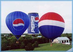 PEPSI Hot Air Balloon - Bing Images