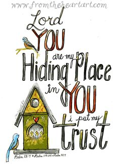 My hiding place. Bible Verse Art, Scripture Cards, Scripture Quotes, Bible Scriptures, Be My Hero, Bible Doodling, Bible Truth, Way Of Life, Christian Quotes
