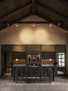 Rustic Design | Simple Bar | Wine Rack | Bottle Display | Wine Cellar | Custom Design | Home Ideas