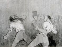 UNE LEÇON D´AGRÉMENT EN 1844 Honoré Daumier (1808 - 1879)