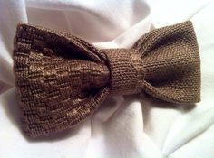 PAPILLON Chocolate Bow Tie Men Farfallino Uomo di Idillyum su Etsy