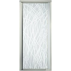 Visit The Home Depot to buy Sterling Plumbing Vista Pivot II in. Framed Pivot Shower Door in Nickel with Pebbled Glass Texture Bathtub Doors, Bathtub Shower, Shower Doors, Accent Furniture, New Furniture, Doors Online, Door Latch, Shower Curtain Sets, Glass Texture
