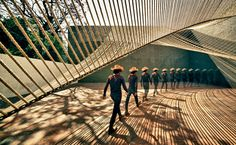 Eco Pavilion in Mexico City by MMX Studio.
