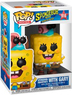 Get ready for fun escapades with this Funko POP! Animation Spongebob Squarepants with Gary the Snail figure. Both figures are rendered in the signature Funko style for a lively new look, while the camping gear outfit provides some outdoorsy style. This Funko POP! Animation Spongebob Squarepants with Gary the Snail figure looks great displayed next to a pineapple or collection of sea shells. Funko Pop Dolls, Funko Pop Figures, Pop Vinyl Figures, Outdoorsy Style, Funk Pop, Pop Toys, Pop Collection, Spongebob Squarepants, A Christmas Story