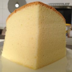 Coconut Butter Sponge Cake