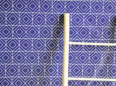 24 x 48 Sketched Geometric Diamond Removable wall