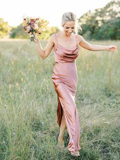 Satin Bridesmaid Dresses, Satin Dresses, Wedding Bridesmaids, Sequin Dress, Formal Dresses, Wedding Dresses, Pink Color Schemes, Wedding Inspiration, Wedding Ideas