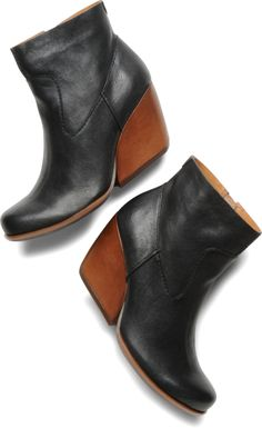 Kork-Ease - Michelle - Black - seriously the most comfy bootie/boot I own! Done & done!