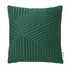 Optical memory pude - grøn - Nomess Copenhagen