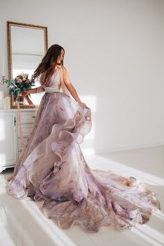 dresses backless haute couture Silk wedding dress ELBA with long train Pretty Dresses, Beautiful Dresses, Backless Wedding, Lace Wedding, Wedding Album, Couture Wedding Gowns, Bridal Gowns, Gorgeous Wedding Dress, Types Of Dresses