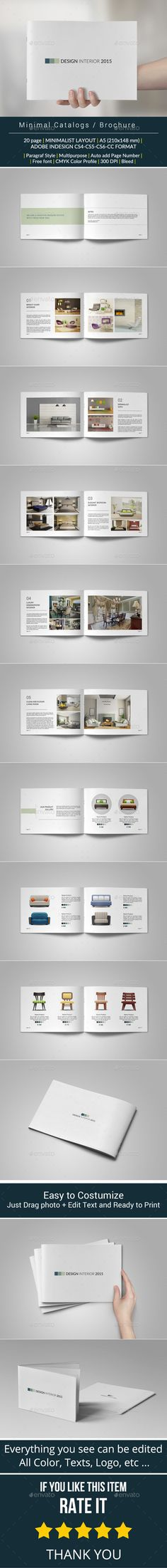 19 Best Brochures Images On Pinterest Page Layout Brochure