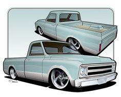 Chevrolet C10 by BRN-MNY on DeviantArt