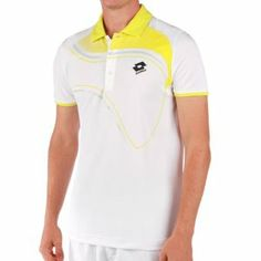 Lotto Men`s LED Tennis Polo White/Lizard Green by Lotto. $60.00. to keep you dry cool and comfortable Featuring a cool tennis ball graphic with fluorescent details. abric 100 Polyester mock eyeletColor White Lizard Green. Made for ultimate oncourt performance the Lotto Mens LED Tennis Polo offers new Deep Dry Tech fabric. this slim fitting shirt has glossy print contrast coloring for added style Lotto logo at left chest. Order Today Ships Today Before 2PM CST. Made for ulti...