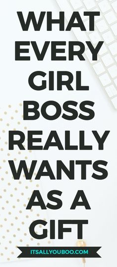 Looking for gift ideas for the boss babe in your life? Click here for the girl boss gift guide with must-have products for 2017 including the perfect stocking stuffers. #giftguide #giftideas #bossbabe #girlboss #giftsforher #gifts #christmasgifts #millenn