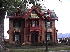 Creepy but actually a nice house.