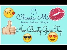 New Beauty Guru Tag | Classic Mia - YouTube