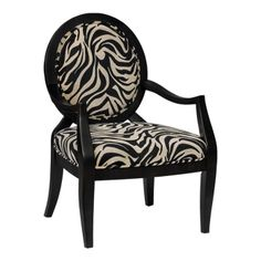 Kenya Accent Chair, great for my zebra room
