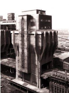 Bernd and Hilla Becher - Coal Bunker (1973)