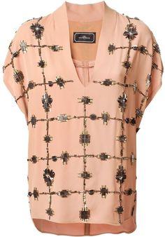 By Malene Birger 'Mylene' embellished blouse