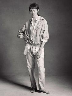 Fei Fei Sun  Photography: Christian MacDonald for Models.com  Styling: Britt Marie K