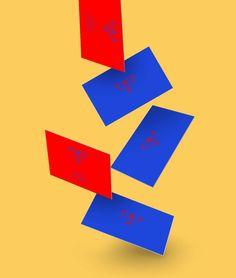 Business card logo design frien - mickeygogo | ello