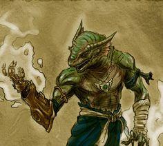 Argonian Mage