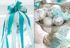 White, Silver & Turquoise