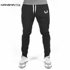2017 High Quality Jogger Pants Men Fitness Bodybuilding Gyms Pants For Runners Brand Clothing Autumn Sweat Trousers Britches #WomenActiveWear