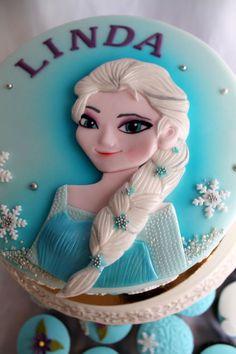 Frozen -Elsa Cake