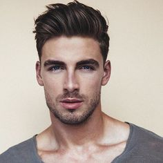 New Hairstyle For Men Mens Hairstyles Pinterest Fade Haircut - Mens hairstyle high forehead