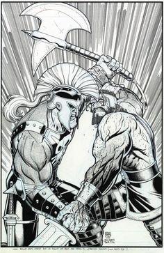 The Incredible Hercules #113 Cover by Arthur Adams